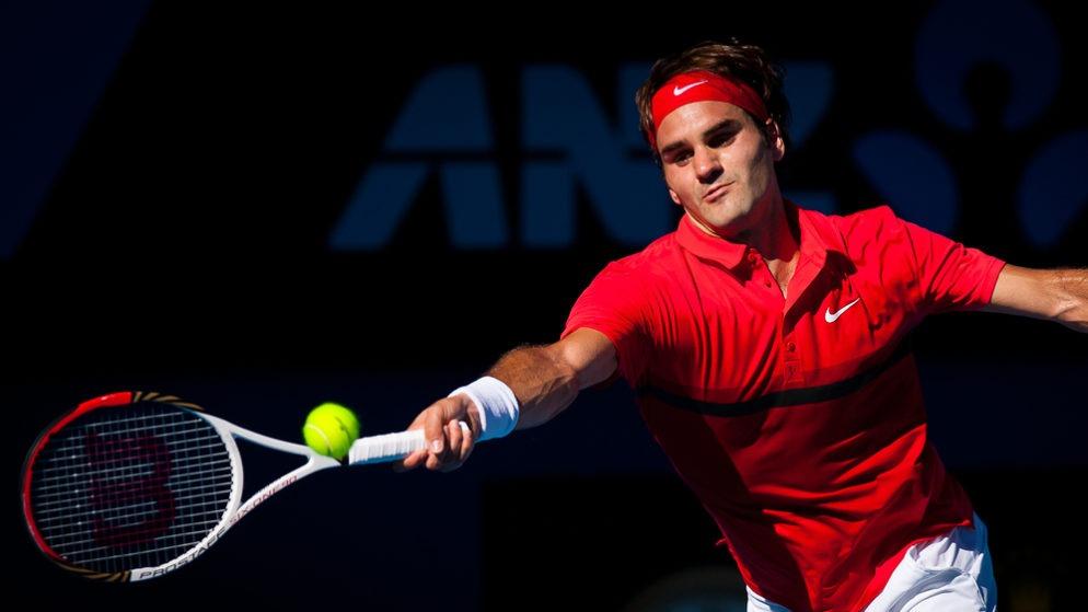 Federer Handed Opening Lajovic Test