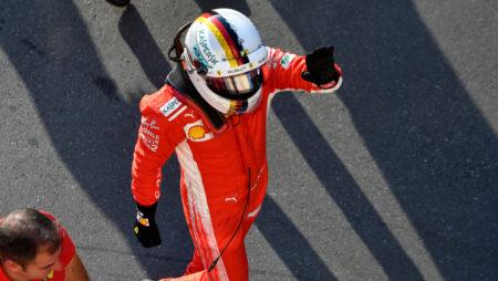 Ferrari Right Behind Vettel